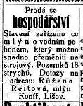 Jihočeské listy, roč. XXX/1924, č. 57, s. 3