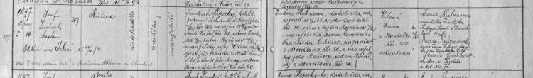 SOA Zámrsk, řím.-katol. f. ú. Kostelec n. Orl., N 1888–190, sign. 77-6159, f. 207.