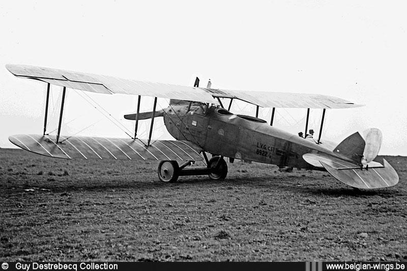 Pozorovací letadlo Luft-Verkehrs-Gesellschaft G.m.b.H. C VI