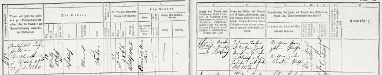 NA ČR, Židovské matriky, úřední knihy. Votice, inv. č. 2382, N 1813-1870, záp. 642