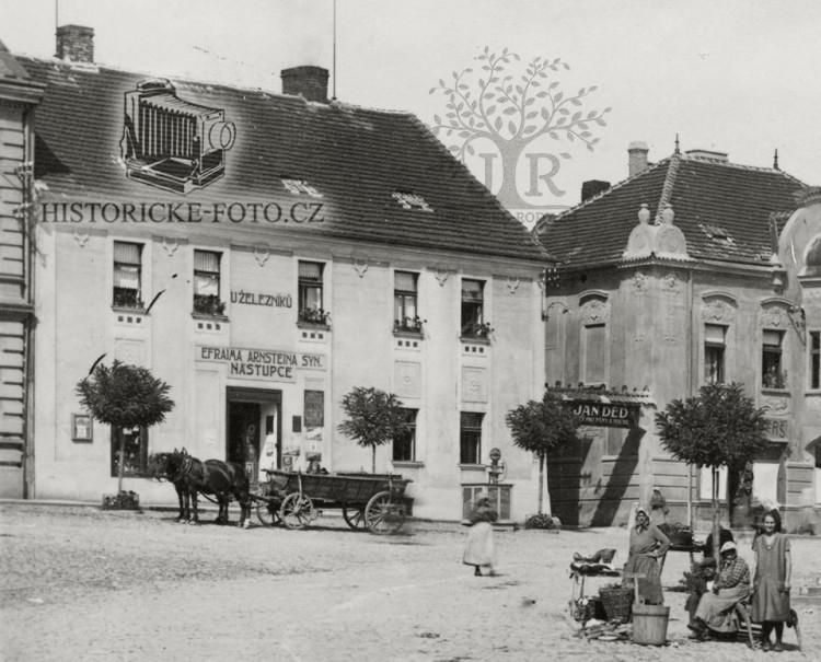 Obchod nástupce Efraima Arnsteina, obchodníka ve Voticích