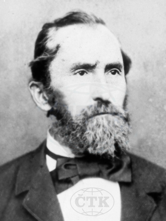 Josef Hácha, otec prezidenta Emila Háchy. Foto ČTK
